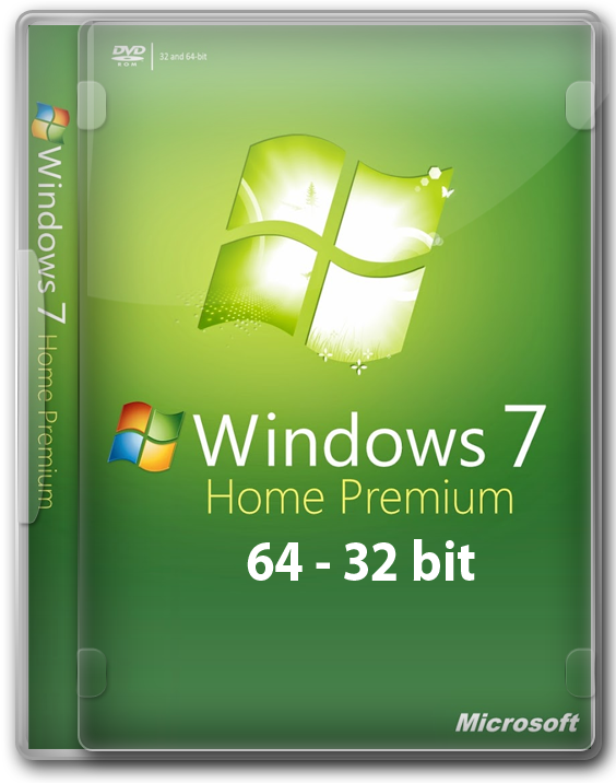 Windows 7 Домашняя Расширенная 64 - 32 бит