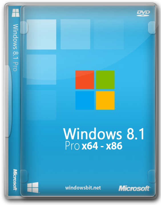 Windows 8.1 Professional x64 - x86 на русском.
