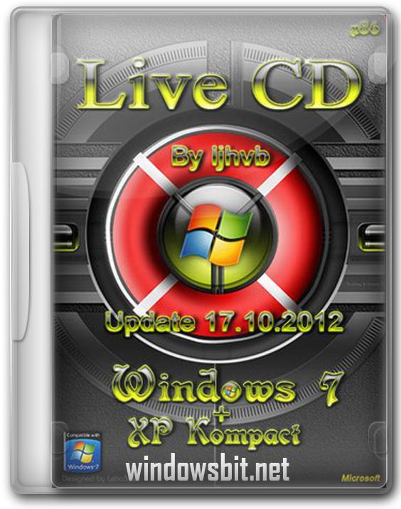 Скачать загрузочный usb windows 7 live cd для флешки торрент.