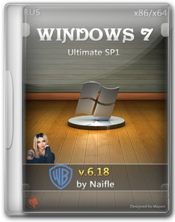 Windows 7 легкая версия Lite Ultimate 64 - 32bit без лишнего хлама.