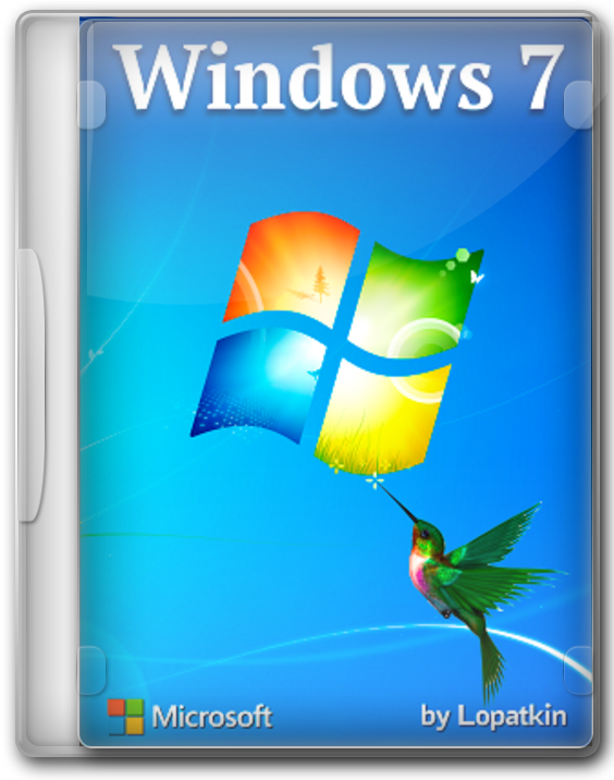 Самая лёгкая Windows 7 Pro 64bit - 32bit 2020 для слабых компьютеров
