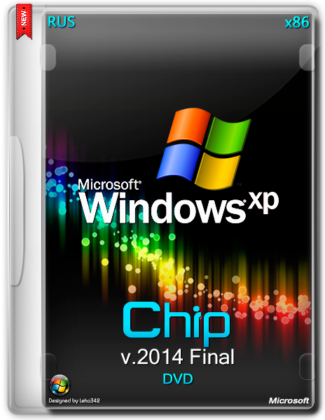 Windows XP 32 bit 2014 Final Chip USB на русском